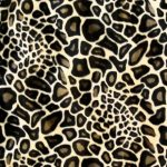 Giraffe 1 Kuschelmatte Huxus