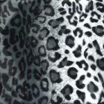 Leo schwarz/weiß Kuschelmatte Huxus